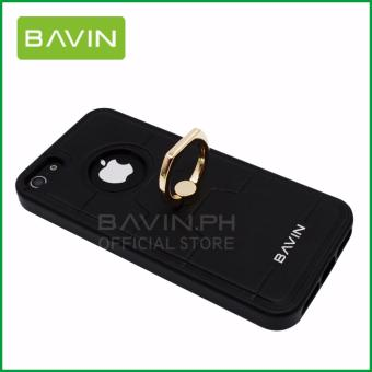 Bavin Leather/TPU Case with Ring Holder for iPhone 5/5s/5SE (