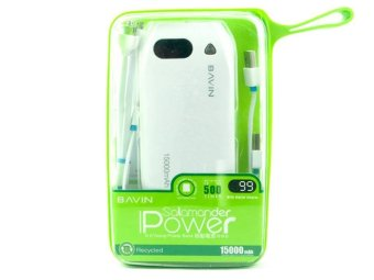 BAVIN Salamander 15000mAh Power Bank (White) Price Philippines