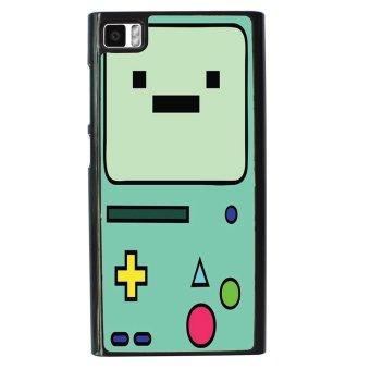 Beemo Adventure Time Pattern Phone Case For Xiaomi Mi3 (Black)