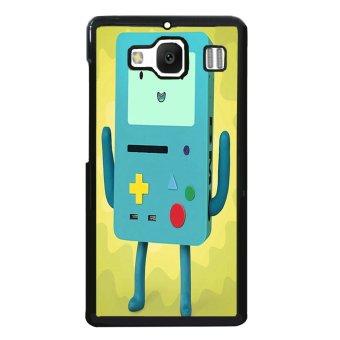 Beemo Adventure Time Pattern Phone Case for XiaoMi RedMi 2 (Black)