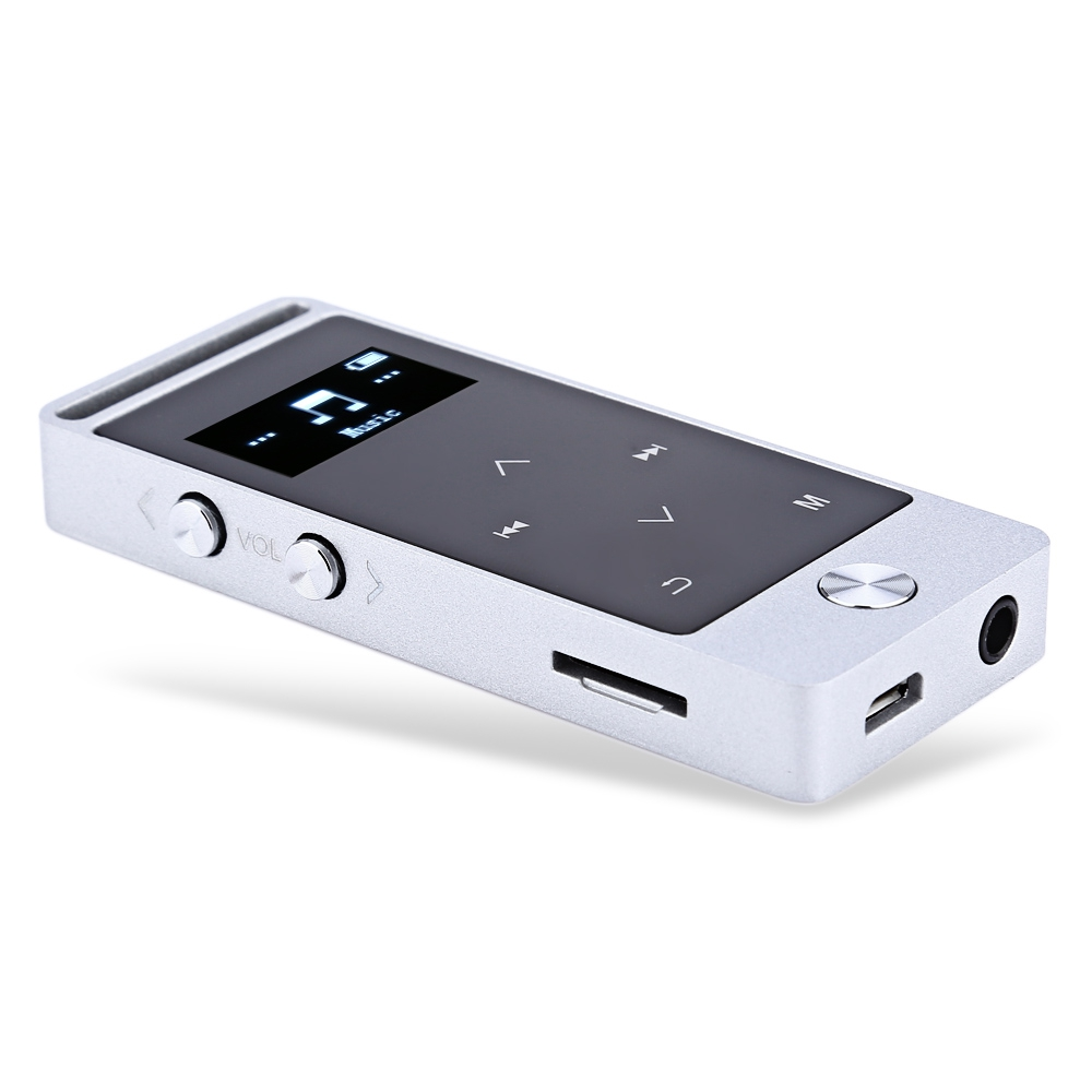 BENJIE S5 Mini OLED 8GB Digital Voice Recorder Lossless HiFi Sound MP3 Audio Player E- ...