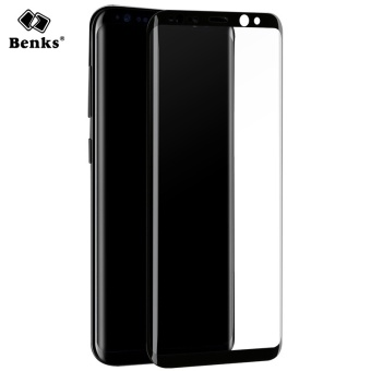 Benks For Samsung Galaxy S8 Plus 3D AGC Curved edge Full CoverTempered Glass Screen Protector For Galaxy S8 mobile phone film -intl - 2