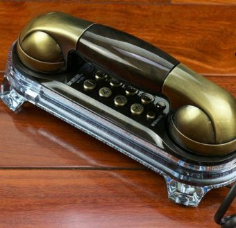 BIGCAT antique telephone retro creative phones landline phones -intl