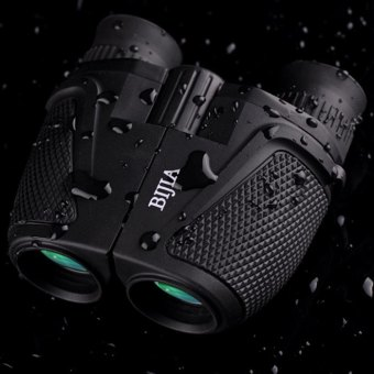 BIJIA Porro BK4 Prism Waterproof 12 x 25 HD Night Vision Binoculars 83m / 1000m Ultra-clear Telescopes (Intl) - 5