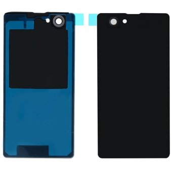 Black Back Case Housing Battery Door Rear Cover For Sony Xperia Z1- intl