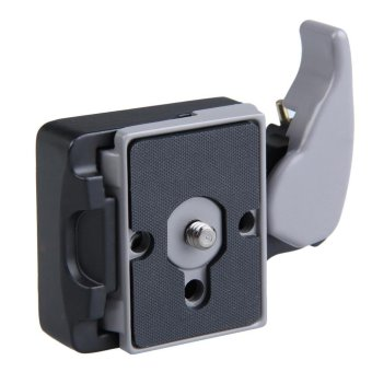 Black Camera 323 Quick Release Adapter with Manfrotto 200PL-14 Compat Plate - intl