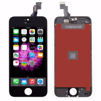 BLACK LCD Display with Touch Screen Digitizer For iPhone 5C - intl