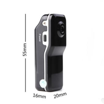 Black MD80 Mini DV Camera Hidden DVR Video Recorder WaterproofSports Camcorder - intl