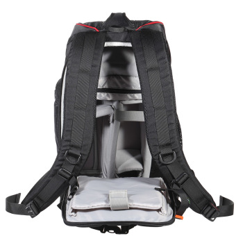 Black Photography Padded Shockproof Water-resistant Backpack Bag Case for Nikon Canon Sony DSLR Camera Accessories - Intl - Intl