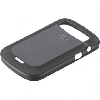 BlackBerry RIM ACC-38873-301 TPU Soft Shell Case for BlackBerry 9900 9930 (Black)