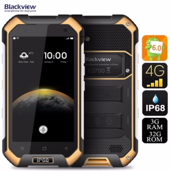 Blackview Mobile BV6000 32GB 4.7 IPS Display 4G LTE Dual SIM Water-proof Dust-proof (Sunshine Yellow) (THE ORIGINAL)