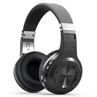 Bluedio H+ Bluetooth Wireless Headphone (Black)