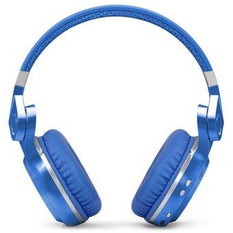 BLUEDIO T2+ Turbine Plus Bluetooth Headphones Wireless Headset MP3Player (Blue) - 2