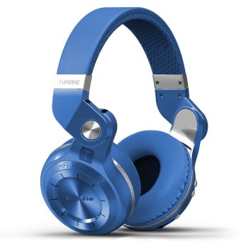 Bluedio T2S Bluetooth Headphones (Blue)