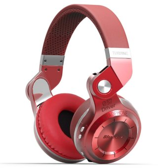 Bluedio T2S Bluetooth Headphones (Red) - 4