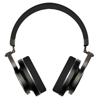 Bluedio T3+ Bluetooth V4.1 Headphones With Mic Supporting TF Card (Black) - intl