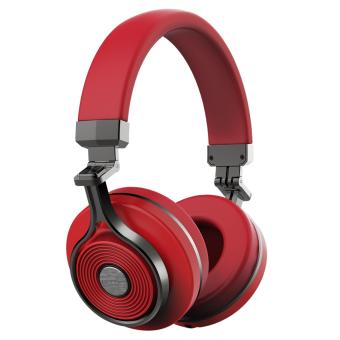Bluedio T3 (Turbine 3rd) Extra Bass Wireless Bluetooth 4.1 Stereo Headphones(Red) - 4