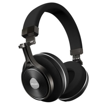 Bluedio T3 Wireless Bluetooth Foldable Headphone (Black)