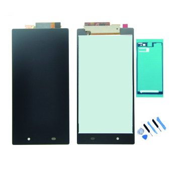 Bluesky LCD Display Panel Monitor Moudle + Touch Screen Digitizer Sensor Glass Lens Assembly for Sony Xperia Z1 L39H L39 C6902 C6903 C6906 - Intl