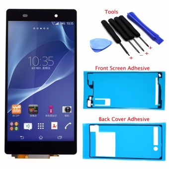 Bluesky LCD Display Touch Screen Digitizer Assembly+Back Cover Adhesive+Screen Adhesive+Tools For Sony Xperia Z2 D6502 D6503 D6543 L50W - Intl