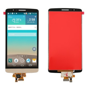 Bluesky LCD Display Touch Screen with Digitizer Assembly For LG G3 D855 D850, Gold - Intl
