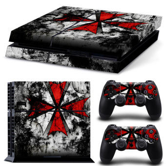 Bluesky Ps4 Console Full Skin Sticker Faceplates (Paints Console Skin X 1 + Controller Skin X 2) - intl