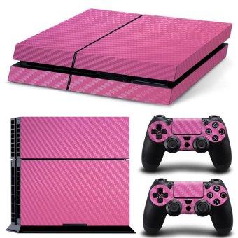 Bluesky Ps4 Console Full Skin Sticker Faceplates (Pink) (Intl)