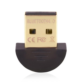 Bluetooth 4.0 Adapter Wireless USB Bluetooth Dongle for Computer PC Laptop - intl