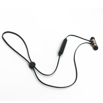 Bluetooth 4.1 version Magnetic stereo In-Ear Headset Earphone iOS Android phone - intl - 2