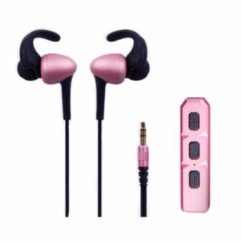 Bluetooth Headset Sport Headphone Stereo Earphone(Rose Gold)