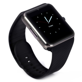 Bluetooth Smart Watch GT08 Clock Sync Notifier With GSM Sim CardSmart Wrist Watch For Apple iphone iOS Android Phone (Silvery Side)