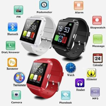 Bluetooth Smartwatch U8 U Smart Watch For Mobile Phone Smartphones- intl