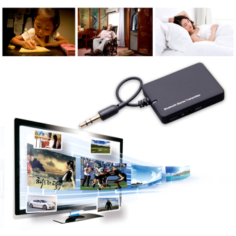 Bluetooth Transmitter Transmite Mini 3.5mm Bluetooth AudioTransmitter A2DP Stereo Dongle Adapter for TV iPod Mp3 Mp4 PC