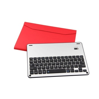 "Bluetooth Wireless Keyboard + Cover Case Stand Holder SlimUltra-thin Leather For Apple New iPad 9.7 (2017 Release)/ iPad Air1 / iPad Air 2 / iPad Pro 9.7"" - intl"
