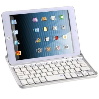 Bluetooth Wireless Keyboard for Apple iPad Mini 3 (White)