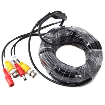 BNC 10m Video Power Siamese Cable for CCTV Surveillance Camera