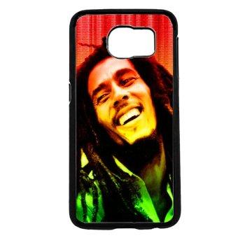 Bob Marley Pattern Phone Case for Samsung Galaxy S6 (Black)