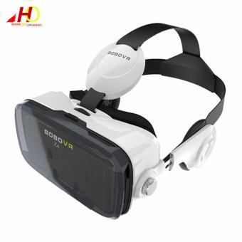"BOBOVR Z4 3D VR Virtual Reality Glasses with Headphone for 4""-6""(White) Price Philippines"