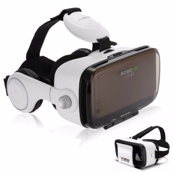 BOBOVR Z4 Virtual Reality VR Box for Smartphones with VR Mini 3D Virtual Reality Glasses for Smartphones (White/Black) Price Philippines