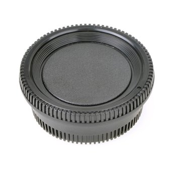 Body Cap + Rear Lens Cap Set for Nikon Camera - picture 2