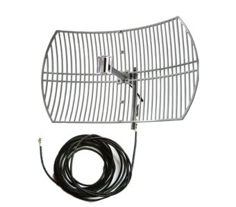 Bolt Grid 3G/4G/LTE 24 dbi Antenna with 30 Meter Wires for B593B631 B315 Only