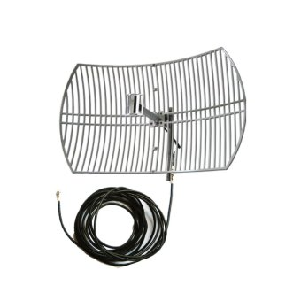 Bolt Grid Antenna 3G/4G/LTE 24 dbi with 10 meter wires B593 B631B315 Only