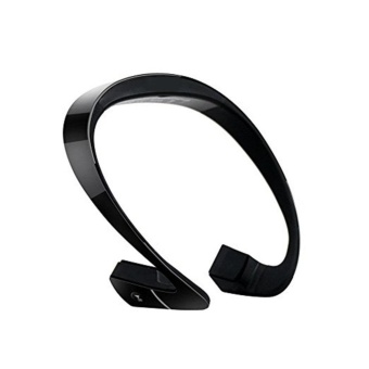 Bone Conduction Sports Headset Wireless Bluetooth 4.1 HeadphoneStereo Earphone with Mic Call NFC Function Black - intl