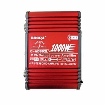 Bosca 1000W C-AD802L 2 Channel Output Power Amplifier #0124 Price Philippines