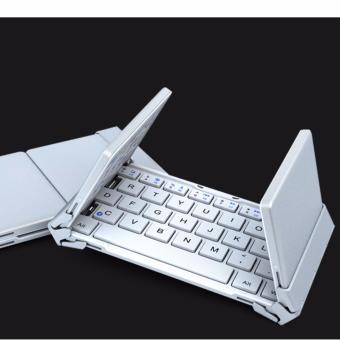 B.O.W Mini Bluetooth Keyboard Foldable(Folding)Aluminium case foriOS, Android, Windows, PC,Tablets and Smartphone Price Philippines