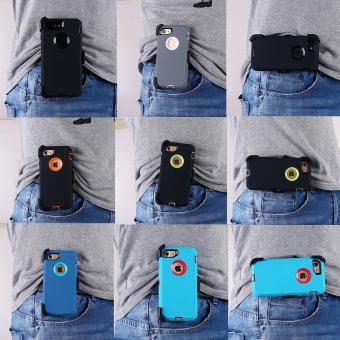 (BOX Belt Clip Fits Otter) Defender Heavy Duty Case Cover For AppleIPhone 6 plus / IPhone 6s plus - intl - 2