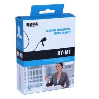 BOYA BY-M1 Omni-Directional Lavalier Microphone for Smartphones and DSLR Cameras