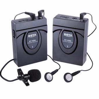 BOYA BY-WM5 DSLR Camera Wireless Lavalier Microphone RecorderSystem Price Philippines