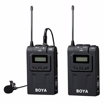 BOYA BY-WM6 Ultra High Frequency UHF Wireless Lavalier MicrophoneSystem for Canon Nikon Sony DSLR Camera Audio Recorder - intl - 3