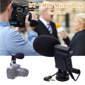 BOYA Directional Condenser Microphone BY-VM01 for DSLR Camera Camcorder DV